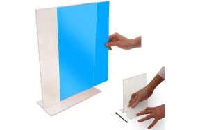 DOUBLE SIDED LITERATURE HOLDERS